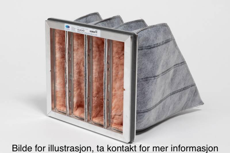 Flexit Nordic S2/S3 Duo kullfilter, komplett filtersett