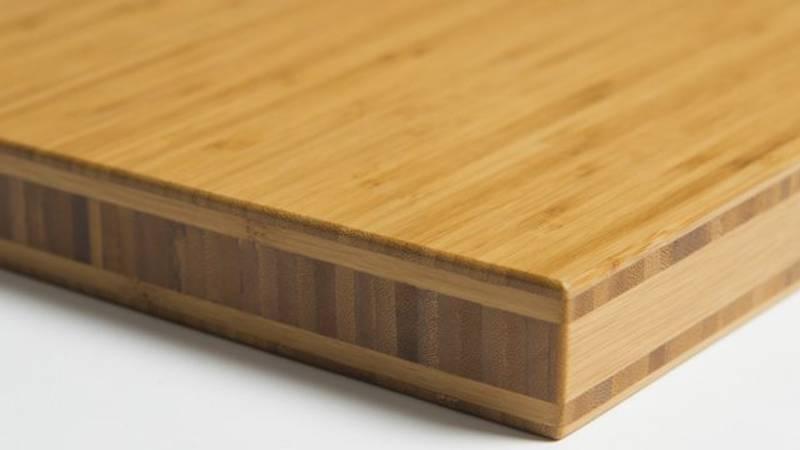 Benkeplate Bambus Vertikal Caramel 40x620x4000mm