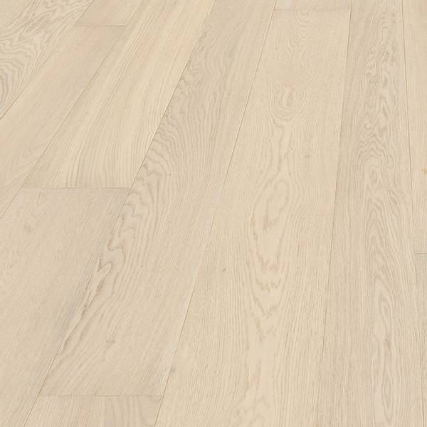 Eik Plank Barentsburg Hvit Mattlakket