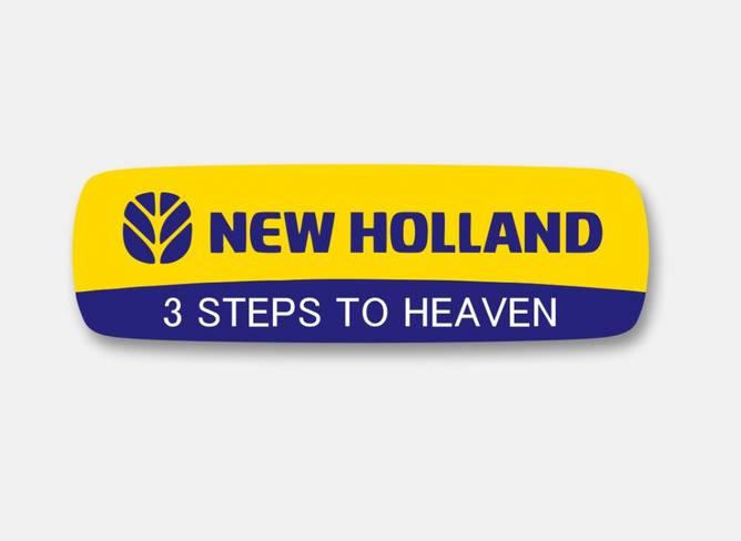 Bilde av New Holland 3 Steps To Heaven Klistremerke