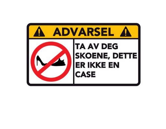 Bilde av Advarsel Dette Er Ikke En Case