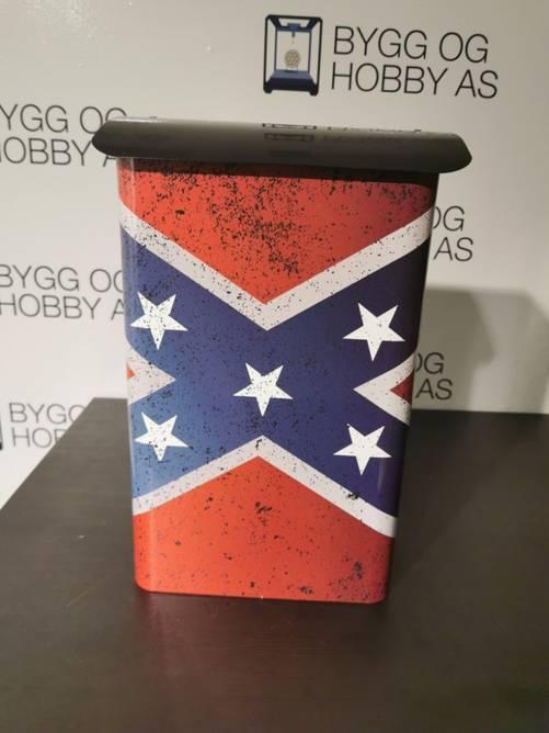 Bilde av Postkasse Redneck Flagg