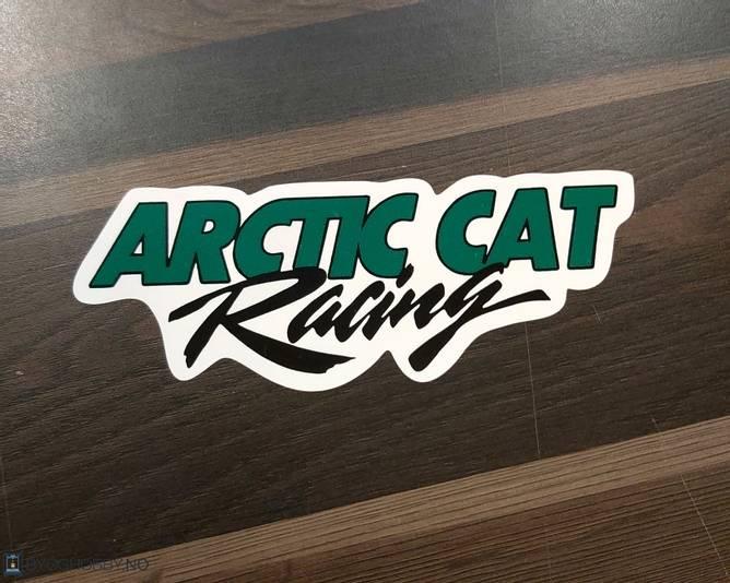 Bilde av Artic Cat Racing Klistremerke
