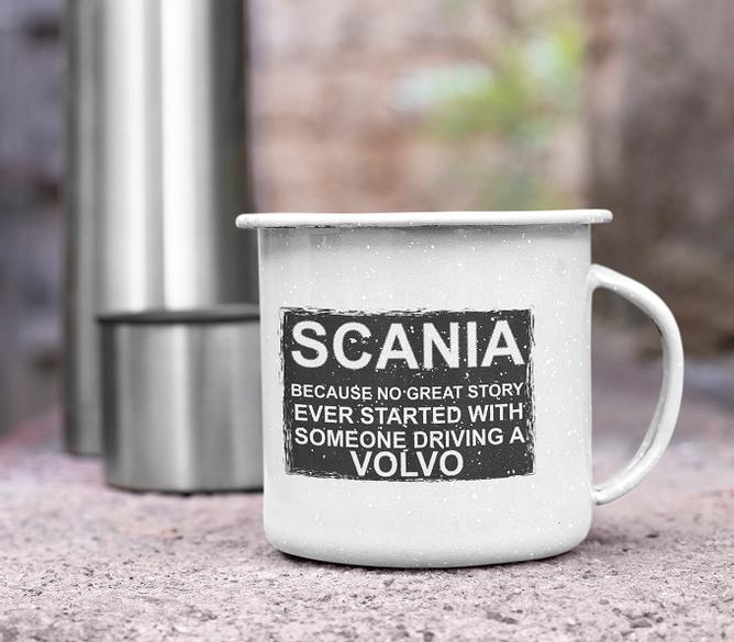 Bilde av Kopp because no story Scania