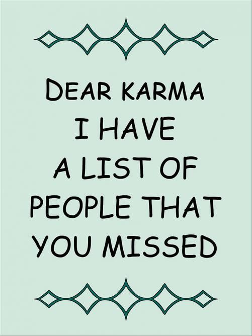 Bilde av Dear karma