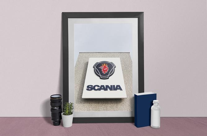 Bilde av Scania skilt poster