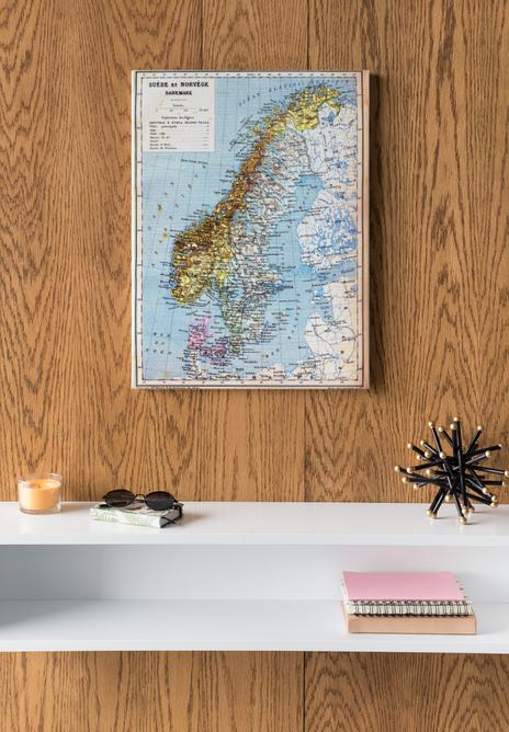 Bilde av Gammelt Norgeskart