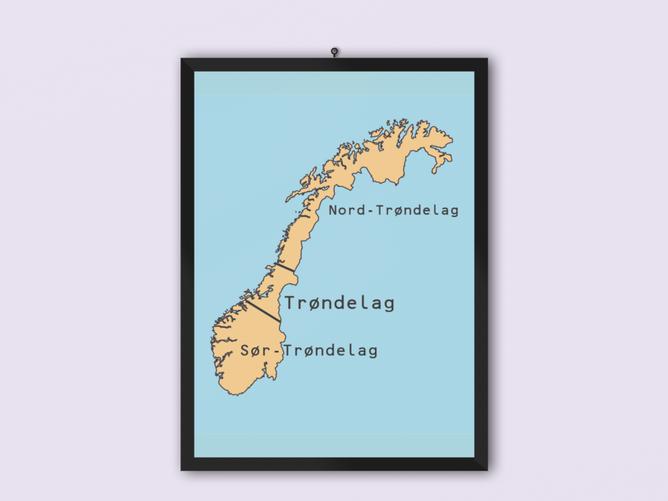 Bilde av Trønderkart