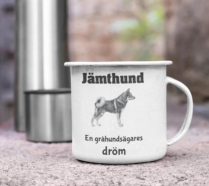 Bilde av Kopp Jämthund en gråhundsägares dröm