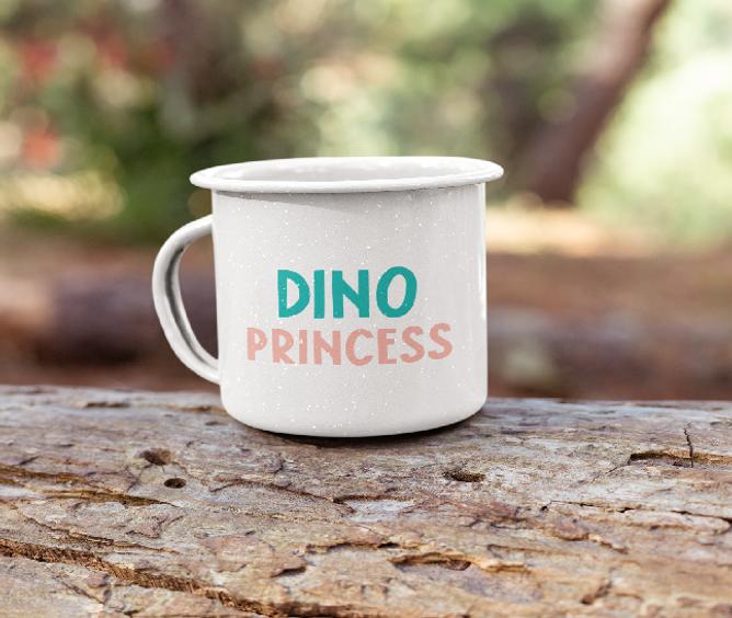 Bilde av Kopp Dino Princess