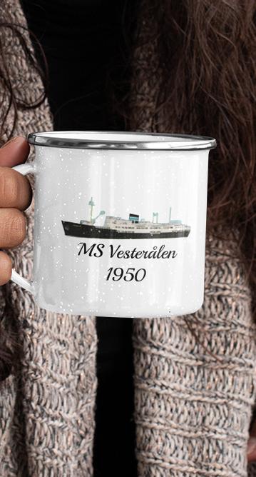 Bilde av MS Vesterålen 1950