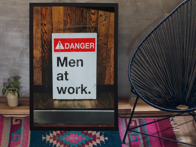 Bilde av Danger Men At Work Bilde