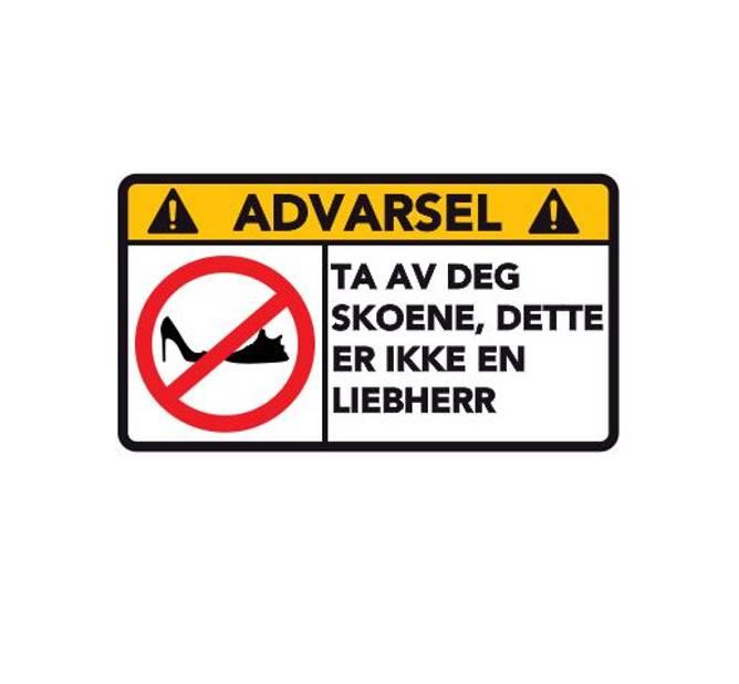 Bilde av Advarsel Detter Er Ikke En LIEBHERR