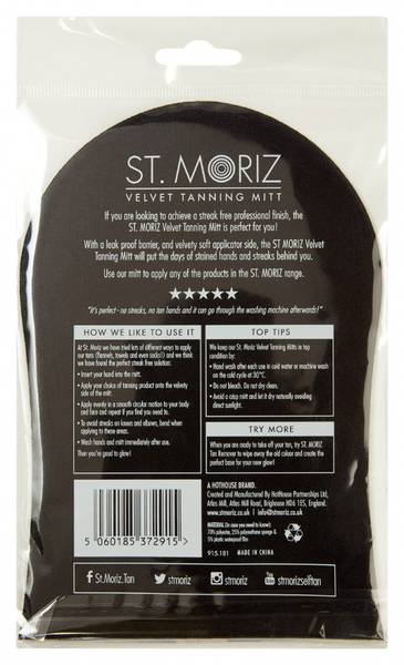 St Moriz Tanning Mitt