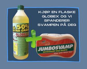 Bilde av Rengjøringsmiddel Globex 80 1,5l  m/voks og svamp