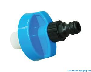 Bilde av Skrulokk til vannpåfylling m/gardenakobling Ø67mm
