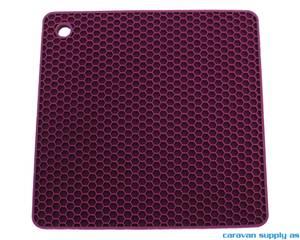 Bilde av Grytelapp LotusGrill silikon kvadrat lilla