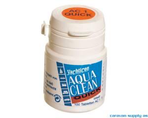 Bilde av Vannrensemiddel Aqua Clean Quick 1 1tab/1l 100tab