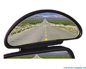Bilde av Speil Hercules vidvinkel 14x5cm enkel