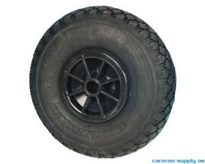 Bilde av Reservehjul til nesehjul luft 260x85mm metallfelg