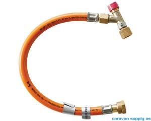 Bilde av Gasslange Kosan høytrykk fra gassventil