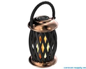 Bilde av Lampe Ignis flammelampe LED kobber.