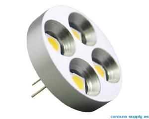 Bilde av Lyspære G4 LED flat vertikal 100 lumen 0,8W (7W)