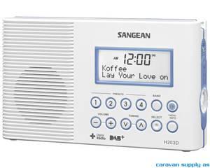 Bilde av Radio Sangean DAB+/FM vanntett hvit