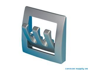 Bilde av Garderobehenger sammenleggbar sølvgrå