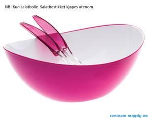 Bilde av Salatbolle Gimex 28x26cm rosa