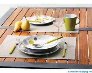 Bilde av Bordbrikke Brunner Delicia 30x45cm grå