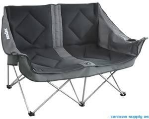 Bilde av Campingstol Brunner Action Sofa 3D polstret svart
