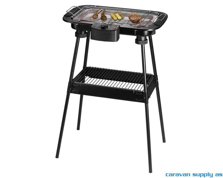 Elektrisk grill 2-i-1 grill/bordgrill 2000W