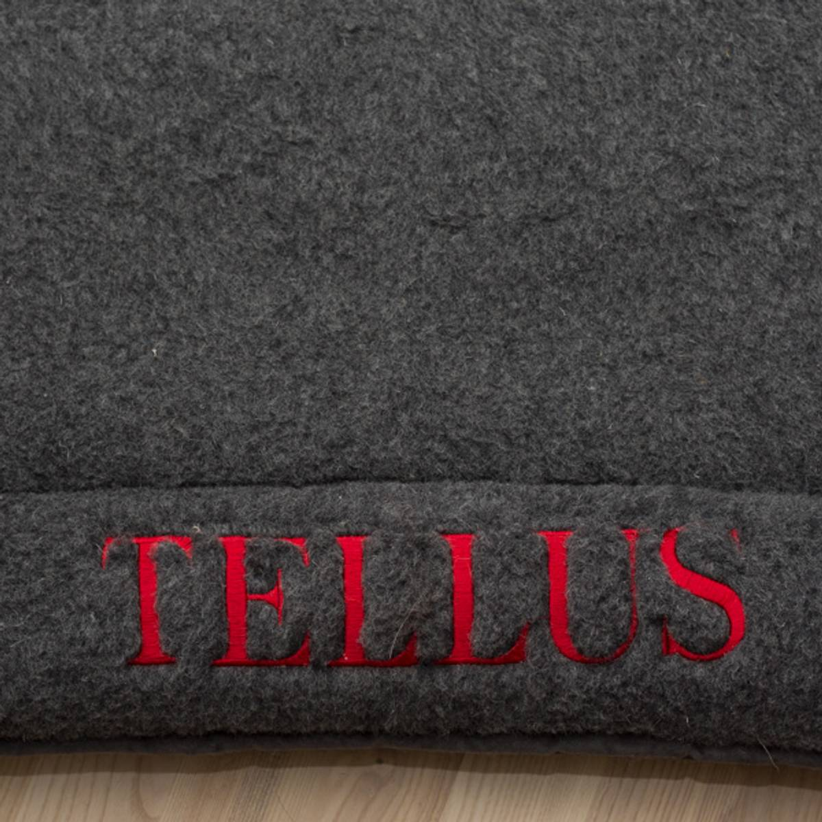 Wool bed elevated edges special color and/or name embroidery