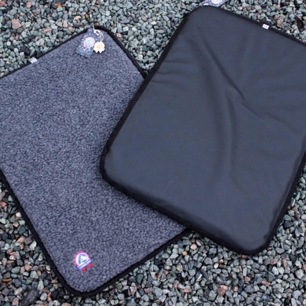 Wool mattress with waterproof underside