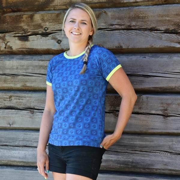 Bilde av T-skjorte i 95% bomull, 5% elastan
