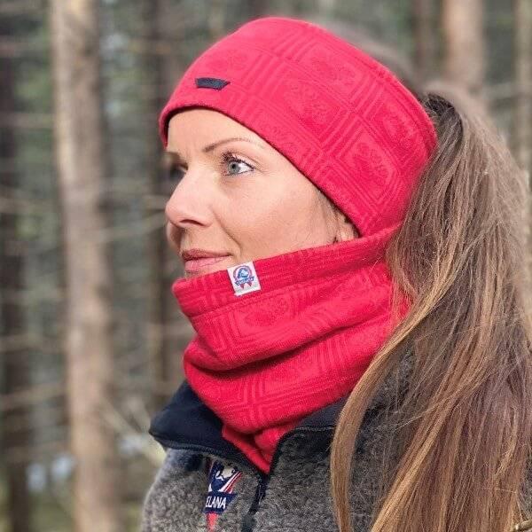 Image of RANA neck warmer - merino wool lined with fleece