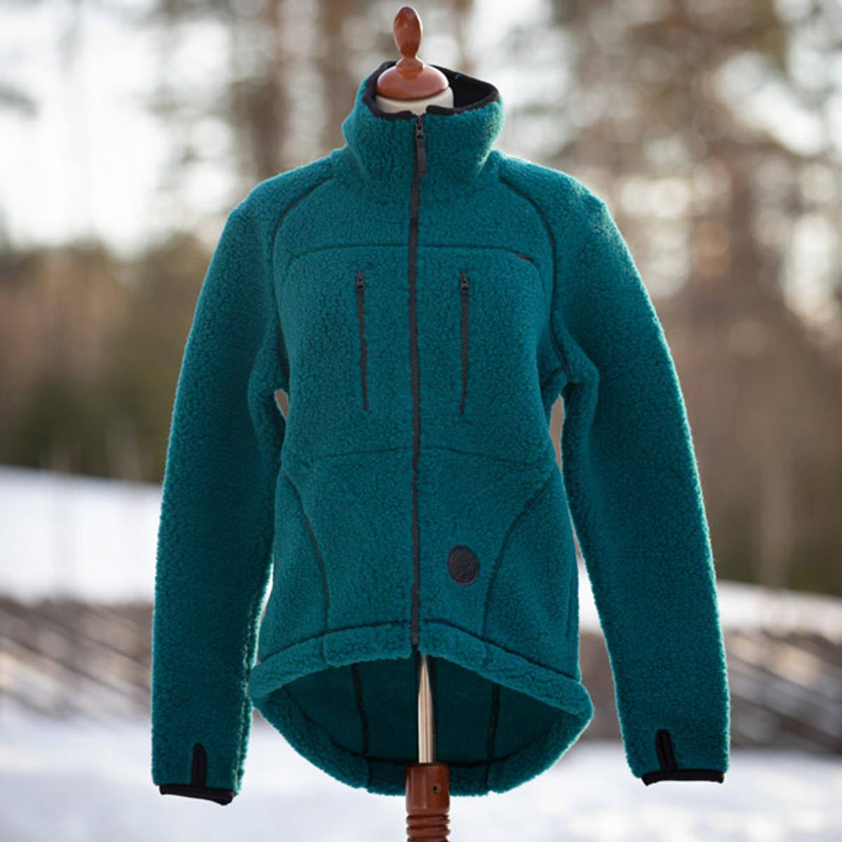 GRIMSBU - Merino wool jacket