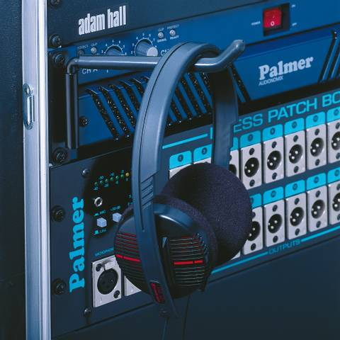 Bilde av Opphengskrok for hodetelefoner, rackmonterbar