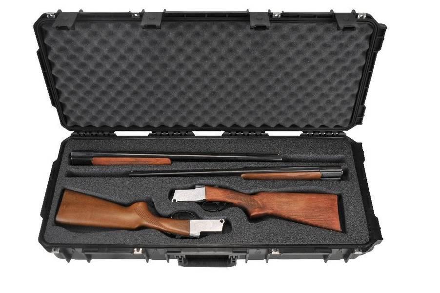 SKB ISERIES 3614 DOUBLE CUSTOM BREAKDOWN SHOTGUN CASE