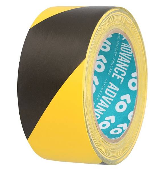 Advance Tapes 5803 Safety Tape Black Yellow 50mmx33m