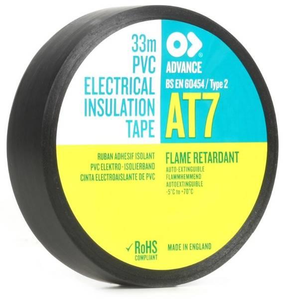 PVC Insulating Tape black 19 m