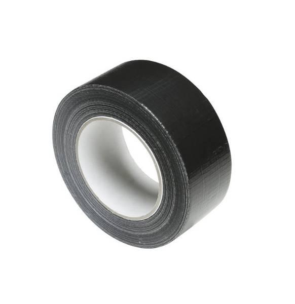 Gaffa / Gaffer adhesive Premium Tape black 50mm x 50m