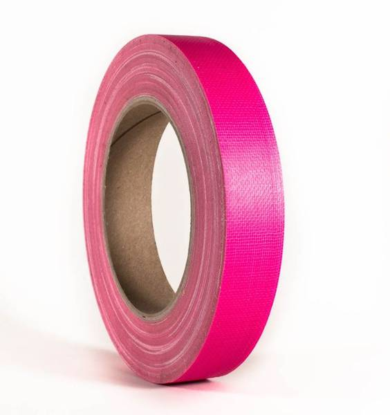 Gaffa / Gaffer Tapes Neon Rosa 19mm x 25m