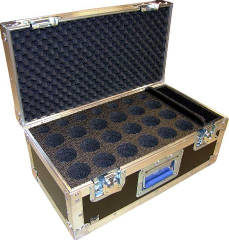 Bilde av Mikrofonkoffert Standard, 25 mikrofoner, 70mm rom