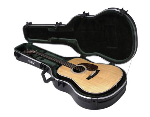 Bilde av SKB ACOUSTIC DREADNOUGHT DELUXE GUITAR CASE
