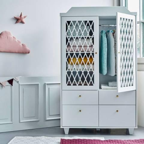 Bilde av Garderobeskap White - CamCam