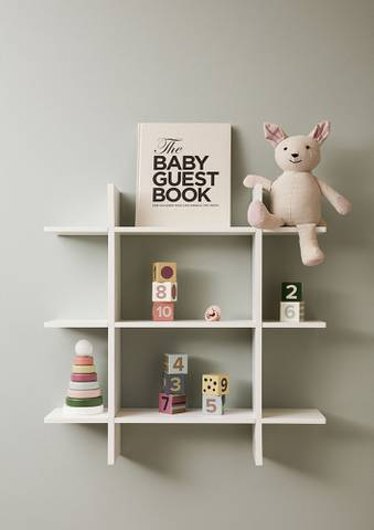 Bilde av Vegghylle Hvit - Kids Concept