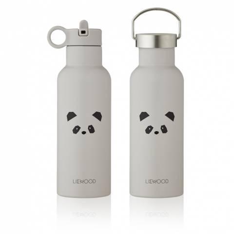 Bilde av Neo Drikkeflaske Panda Grey (500ml) - Liewood