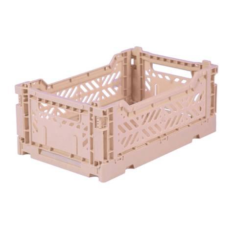 Bilde av Foldbar oppbevaringskasse Mini (Milk Tea)  -